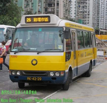 澳门26路線公交车路线