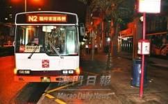 澳门N2路線公交车路线