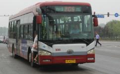 北京运通205线公交车路线