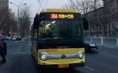 北京304路公交车路线