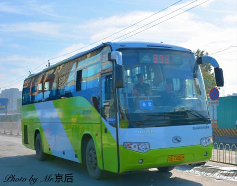 北京892路公交车路线