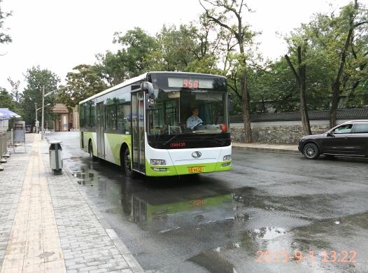 北京958路公交车路线