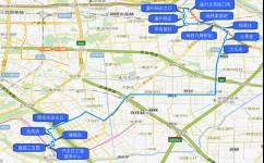 北京快速直达专线1公交车路线
