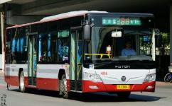 北京运通104线公交车路线