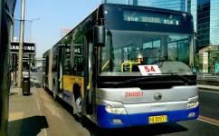 北京54路公交车路线