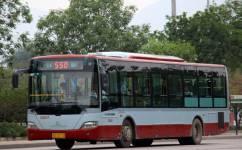 北京550路公交车路线