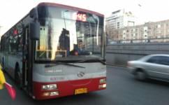 北京645路公交车路线