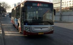 北京87路公交车路线