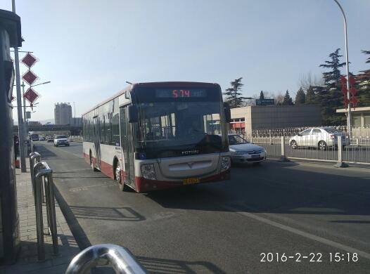 北京574路公交车路线