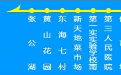 蚌埠微1路公交车路线