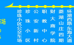 蚌埠微2路公交车路线