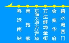 蚌埠微3路公交车路线