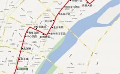 朝阳21路公交车路线