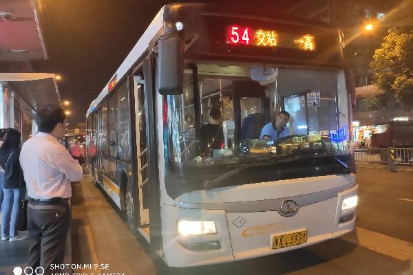 成都54路公交车路线