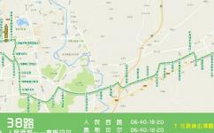 郴州38路公交车路线