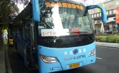 福州贵安旅游1号专线[五一广场]公交车路线