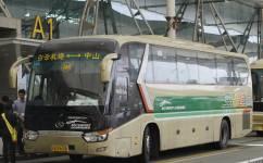 广州空港快线中山沙溪线公交车路线