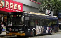 广州833路公交车路线