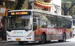 广州82路公交车路线