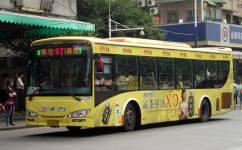广州17短线公交车路线