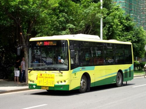 广州384路公交车路线