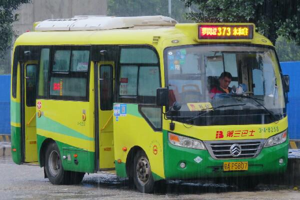 广州373路公交车路线