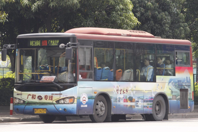 广州佛里07B路公交车路线