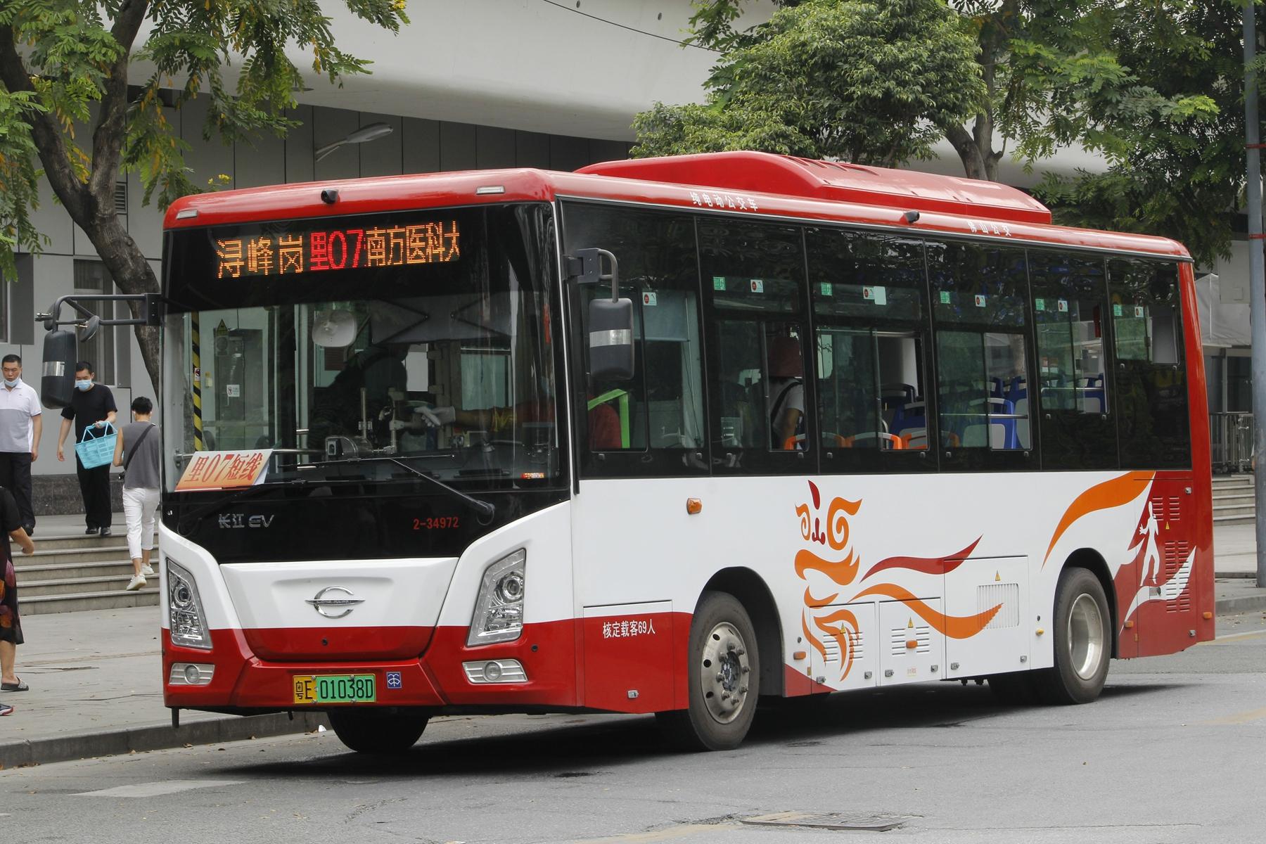 广州佛里07路短线公交车路线