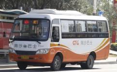 广州南W1A路公交车路线