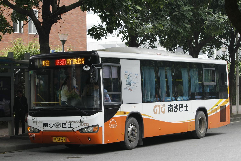 广州南31B路公交车路线