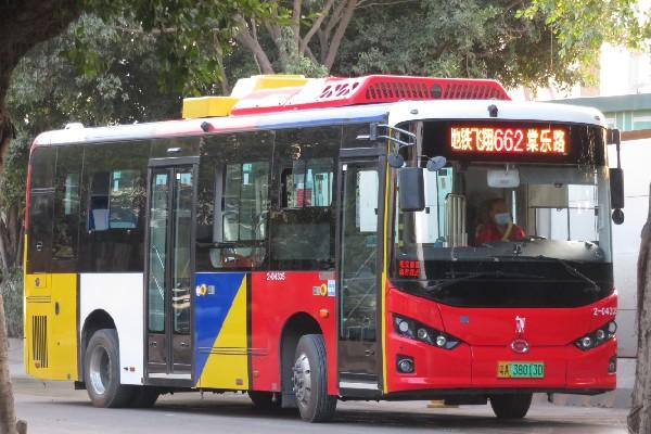 广州662路公交车路线