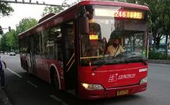 广州246路公交车路线
