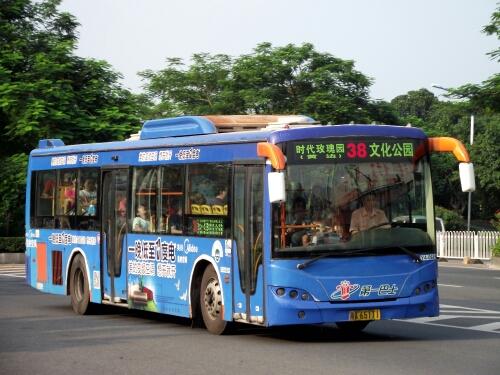 广州38路公交车路线