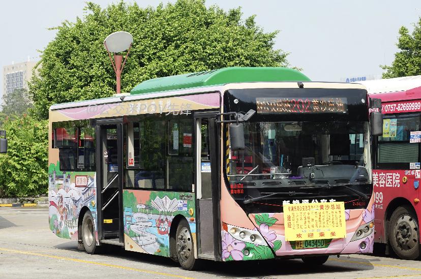 广州佛202路公交车路线