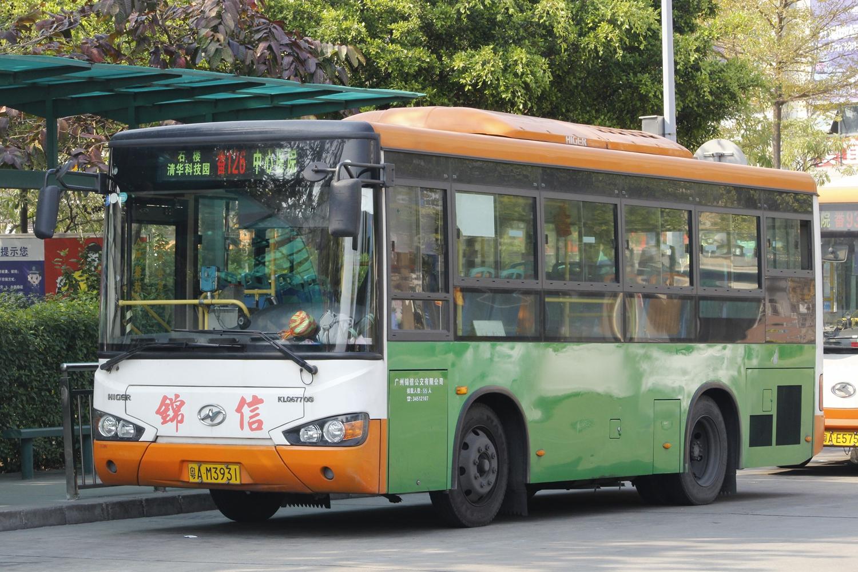 广州番126路公交车路线