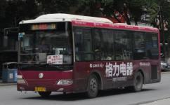 广州花85路公交车路线