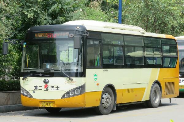 广州571A路公交车路线