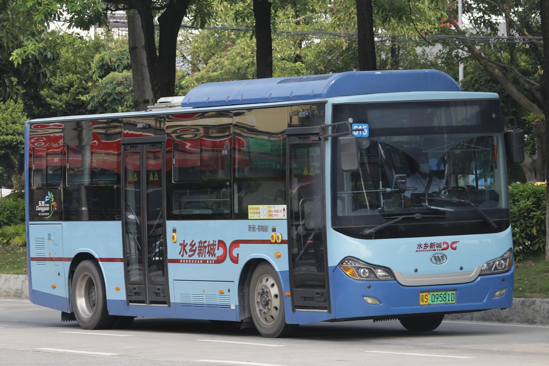 广州莞615路公交车路线