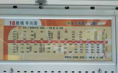 广州18路公交车路线