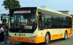 广州652路公交车路线