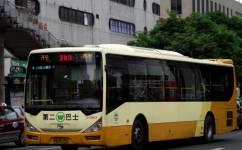 广州283路公交车路线
