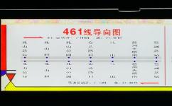 广州461路公交车路线