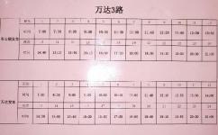 广州万达3路公交车路线