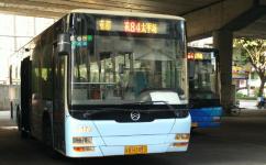 广州花84路公交车路线