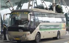 广州空港快线河源线公交车路线