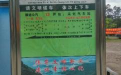 广州流溪河林场森林公园公交站