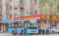哈尔滨呼兰10路公交车路线