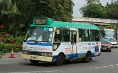 香港68K (新界绿小)公交车路线