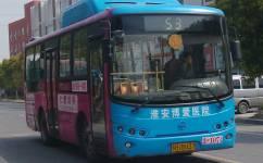 淮安53路公交车路线