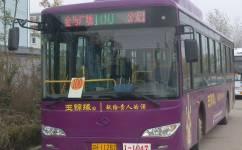淮安100路公交车路线